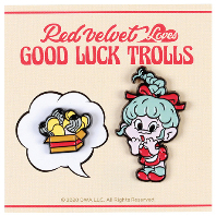 LOVES GOOD LUCK TROLLS - BADGE SET [WENDY(웬디) TROLL]