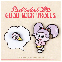 LOVES GOOD LUCK TROLLS - BADGE SET [YERI(예리) TROLL]