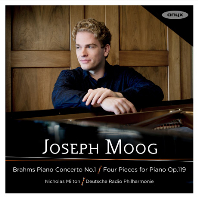 PIANO CONCERTO NO.1, FOUR PIECES FOR PIANO OP.119/ JOSEPH MOOG, NICHOLAS MILTON [브람스: 피아노 협주곡 1번, 소품집 - 요제프 무크]