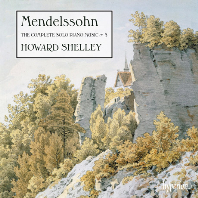 THE COMPLETE SOLO PIANO MUSIC 5/ HOWARD SHELLEY [멘델스존: 피아노 솔로 작품 전곡 5집 - 하워드 셸리]