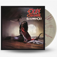 BLIZZARD OF OZZ [SILVER WITH RED SWIRLS] [LP]