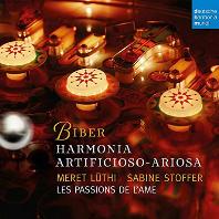 HARMONIA ARTIFICIOSO-ARIOSA/ LES PASSIONS DE L`AME [비버: 하르모니아 아르티피시오소 아리오사 -  레 파시옹 델라므]