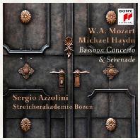 BASSOON CONCERTO & SERENASE/ SERGIO AZZOLINI [모차르트 & 미하엘 하이든: 바순 협주곡 & 세레나데 - 세르지오 아졸리니]