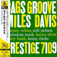 BAGS GROOVE [LIMITED] [UHQ-CD]