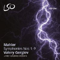 SYMPHONIES NOS.1-9/ VALERY GERGIEV [SACD HYBRID] [말러: 교향곡 1-9번   게르기예프]