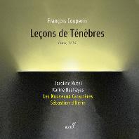 LECONS DE TENEBRES/ LES NOUVEAUX CARACTERES, SEBASTIEN D`HERIN [쿠프랭: 르송 드 테네브르 - 레 누보 카락테, 세바스티앙 데랭]