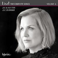 THE  COMPLETE SONGS 6/ JULIA  KLEITER, JULIUS DRAKE [리스트: 가곡 전곡 6집 - 율리아 클라이터]