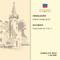 OCTET FOR STRINGS & CELOO QUINTET/ ACADEMY OF ST MARTIN IN THE FIELDS [멘델스존 & 보케리니: 현악 8중주, 5중주]