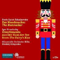 THE NUTCRACKER & FAIRY'S KISS/ DMITRI KITAYENKO [차이코프스키: 호두까기 인형 & 스트라빈스키: 요정의 키스]