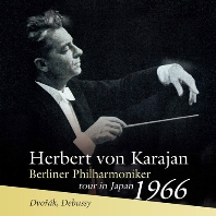 SYMPHONY NO.8 & PRELUDE A L`APRES-MIDI D`UN FAUNE/ HERBERT VON KARAJAN [TOUR IN JAPAN 1966] [드보르작: 교향곡 8번 & 드뷔시: 목신의 오후 전주곡, 교향시 바다 - 카라얀, 베를린 필하모닉 오케스트라 1966년 일본 콘서트 투어]