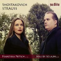SONATA FOR VIOLIN & PIANO/ FRANZISKA PIETSCH, JOSU DE SOLAUN [쇼스타코비치, 리하르트 슈트라우스: 바이올린 소나타 - 프란치스카 피치]