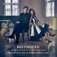 WORKS FOR GUITAR & PIANO/ FRANZ HALASZ, DEBORA HALASZ [SACD HYBRID] [베토벤: 기타와 피아노를 위한 작품 - 프란츠 할라스]