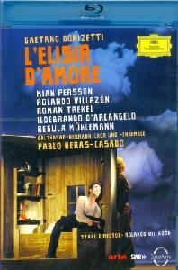 L'ELISIR D'AMORE/ ROLANDO VILLAZON, PABLO HERAS-CASADO [도니제티: 사랑의 묘약 - 롤란도 비야손]