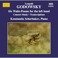 PIANO MUSIC VOL.12/ KONSTANTIN SCHERBAKOV [고도프스키: 왼손을 위한 왈츠 포엠 외]