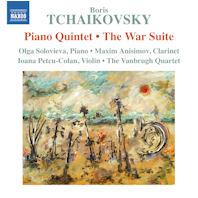 PIANO QUINTET & THE WAR SUITE/ THE VANBRUGH QUARTET [보리스 차이코프스키: 피아노오중주, 전쟁모음곡]