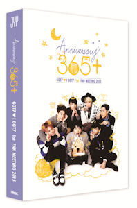 ANNIVERSARY 365+ [GOT7 1ST FAN MEETING 2015] [2DVD+포토북]