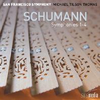 SYMPHONIES NOS.1-4/ MICHAEL TILSON THOMAS [SACD HYBRID] [슈만: 교향곡 전집 - 마이클 틸슨 토마스]