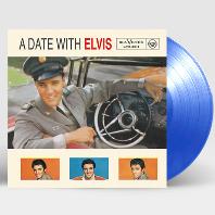 A DATE WITH ELVIS [180G TRANSPARENT BLUE LP] [한정반]