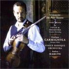The Four Seasons/ Giuliano Carmignola/ Andrea Marcon