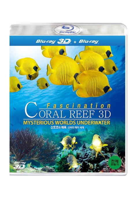 산호초의 매혹: 신비의 해저 세계 3D [초회한정 투명케이스] [FASCINATION CORAL REEF: MYSTERIOUS WORLDS UNDER WATER] [14년 4월 3D 블루레이 페스티벌 프로모션]