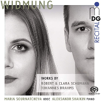 WIDMUNG: WORKS FOR OBOE AND PIANO/ MARIA SOURNATCHEVA, ALEKSANDR SHAIKIN [SACD HYBRID] [로베르트 & 클라라 슈만, 브람스: 헌정 - 오보에 연주곡집(편곡 버전 - 마리아 소르나트체바]
