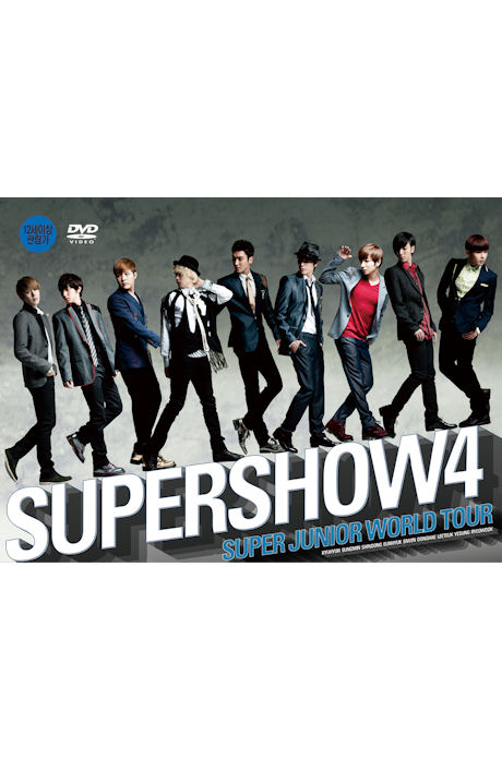 SUPER SHOW 4: SUPERJUNIOR WORLD TOUR [2DVD+포토북]