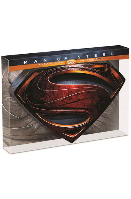 맨 오브 스틸: 3D+2D [S-TIN CASE 한정판] [MAN OF STEEL] (미개봉)[한정판 S-Tin 케이스 콤보팩] 2disc(3D+2D)/아크릴케이스