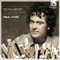 THE LATE PIANO SONATAS/ PAUL LEWIS