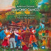 SLAVONIC DANCES/ VACLAV NEUMANN [ORIGINAL JACKET] [드보르작: 슬라브 춤곡]