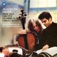 CELLO CONCERTOS/ JACQUELINE DU PRE, DANIEL BARENBOIM, JOHN BARBIROLLI [ORIGINAL JACKET] [하이든 & 보케리니: 첼로 협주곡]