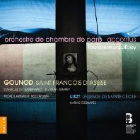 SAINT FRANCIS D`ASSISE & LEGENDE DE SAINTE CECILE/ LAURENCE EQUILBEY [구노: 아시시의 성프란체스코 & 리스트: 성세실리아의 전설]