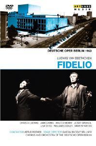FIDELIO/ ARTUR ROTHER: DEUTSCHE OPER BERLIN 1963 [베토벤: 피델리오]
