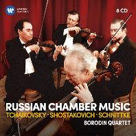RUSSIAN CHAMBER MUSIC [차이코프스키, 쇼스타코비치, 슈니트케: 러시아 실내악 - 보로딘 사중주단]