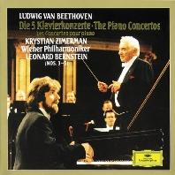 THE PIANO CONCERTOS/ KRYSTIAN ZIMERMAN, LEONARD BERNSTEIN [베토벤: 피아노 협주곡 - 지메르만 & 번스타인]
