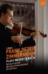 PLAYS MOZART & <!HS>BACH<!HE>/ FRANK PETER ZIMMERMANN, BERNARD HAITINK [모차르트: 바이올린 협주곡 3, 5번 & 바흐: 바이올린 소나타 - 페터 침머만]