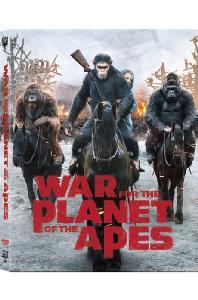 혹성탈출: 종의 전쟁 3D+2D [렌티큘러 오링케이스 스틸북 한정판] [WAR FOR THE PLANET OF THE APES]