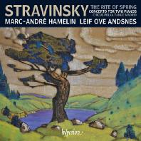 TH RITE OF SPRING, CONCERTO FOR TWO PIANOS/ MARC-ANDRE HAMELIN, LEIF OVE ANDSNES [스트라빈스키: 봄의 제전, 2대의 피아노를 위한 작품집 - 아믈랭 & 안스네스]