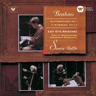 브람스: 피아노 협주곡 1번, 3개의 간주곡 OP.117 (UHQCD)