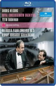 PIANO CONCERTO NO.5 & SCHEHERAZADE/ YEFIM BRONFMAN, <!HS>ANDRIS<!HE> NELSONS [블루레이 전용플레이어 사용]
