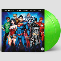 THE MUSIC OF THE DC COMICS VOLUME 2 [DC 코믹스 컴필레이션 2집] [180G LIME-GREEN LP] [한정반]