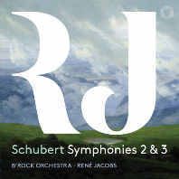 SYMPHONIES 2 & 3/ RENE JACOBS [SACD HYBRID] [슈베르트: 교향곡 2, 3번 - 르네 야콥스]