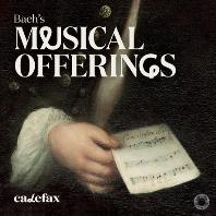 MUSICAL OFFERINGS/ CALEFAX [SACD HYBRID] [바흐: 음악의 헌정, 14개의 캐논, 캐논 변주곡 - 칼레팍스 리드 오중주단]