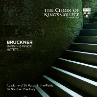 MASS IN E MINOR, MOTETS/ CHOIR OF KING`S COLLEGE CAMBRIDGE, STEPHEN CLEOBURY [SACD HYBRID] [브루크너: 미사곡 2번, 모테트 - 킹스 칼리지 합창단, 클리오베리]