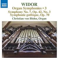 ORGAN SYMPHONIES 3/ CHRISTIAN VON BLOHN [비도르: 오르간 교향곡 7번, 9번(고딕 교향곡) - 크리스티안 폰 블론]