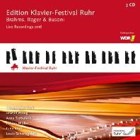 KLAVIER-FESTIVAL RUHR LIVE RECORDINGS 2016 [루르 피아노 페스티벌 35집: 브람스, 레거, 부조니 - 크리스토퍼 박 외]