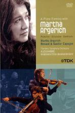 마르타 아르헤리치와 함께하는 피아노의 저녁 [A PIANO EVENING WITH MARTHA ARGERICH/ RENAUD & GAUTIER CAPUCON]