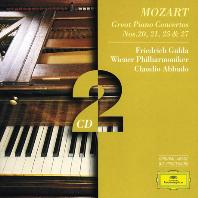 PIANO CONCERTOS NOS.20, 21, 25 & 27/ FRIEDRICH GULDA, CLUDIAO ABBADO [모차르트: 피아노 협주곡 - 굴다, 아바도]