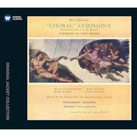 CHORAL SYMPHONY NO.9 & 8/ HERBERT VON KARAJAN [워너 오리지널 자켓 컬렉션] [베토벤: 교향곡 9번<합창>& 8번]