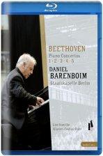 PIANO CONCERTOS 1-5/ <!HS>DANIEL<!HE> BARENBOIM [베토벤: 피아노 협주곡 전곡] [블루레이 전용플레이어 사용]
