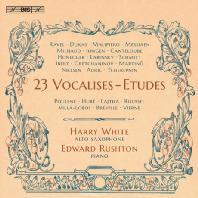 23 VOCALISES-ETUDES/ HARRY WHITE, EDWARD RUSHTON [해리 화이트: 23개의 보칼리즈 에튀드]